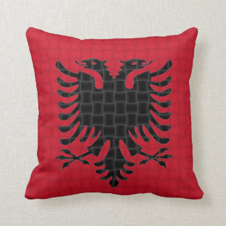 Albania Albanian Flag Cushion