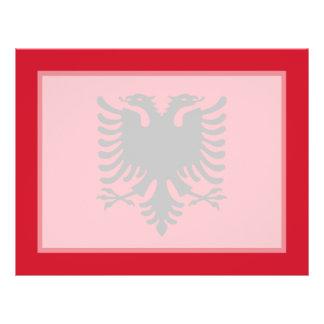 Albania - Albanian Flag Flyer Design