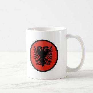 Albania Basic White Mug
