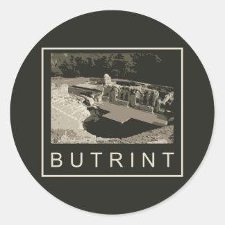 Albania Butrint Round Sticker