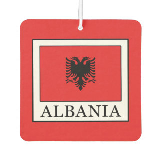 Albania Car Air Freshener
