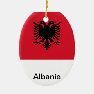 Albania Ceramic Oval Decoration
