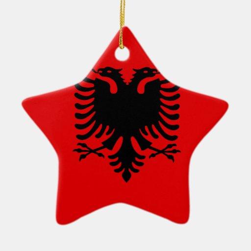 Albania Christmas Tree Ornaments | Zazzle