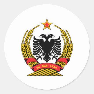 Albania Classic Round Sticker