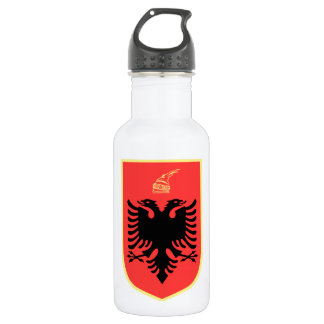 Albania Coat of Arms 532 Ml Water Bottle
