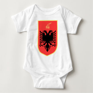 Albania Coat of Arms Baby Bodysuit