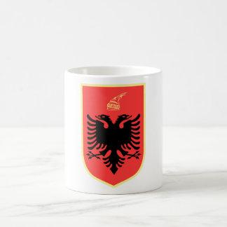 Albania Coat of Arms Basic White Mug