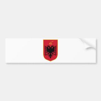 Albania Coat Of Arms Bumper Sticker