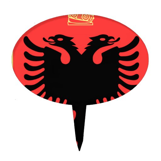 Albania Coat of Arms Cake Toppers