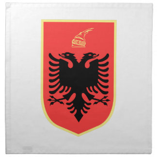 Albania Coat of Arms Napkin