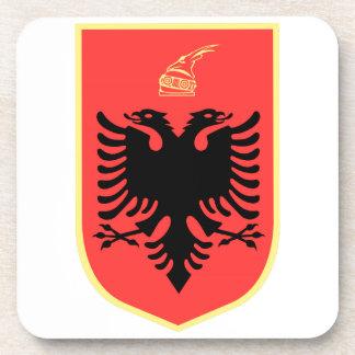 Albania Coat of Arms Coaster
