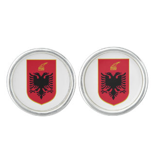 Albania* Coat of Arms Cufflinks