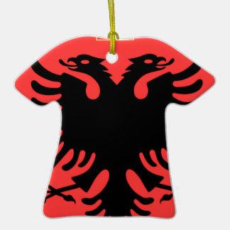 Albania Coat of Arms Ceramic T-Shirt Decoration