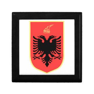Albania Coat of Arms Keepsake Boxes