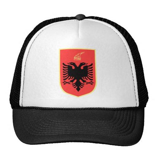 Albania Coat of Arms Hats