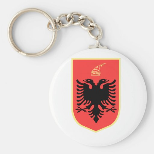Albania Coat of Arms Keychains