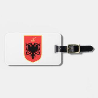 Albania Coat of Arms Bag Tag