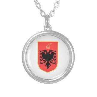 Albania Coat of Arms Custom Necklace