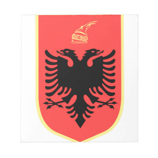 Albania Coat of Arms Note Pad