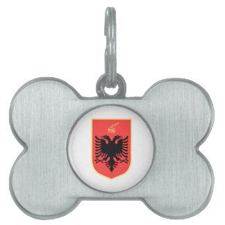 Albania Coat of Arms Pet Tag