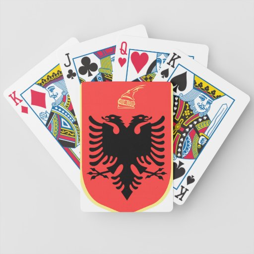 Albania Coat of Arms Bicycle Card Deck
