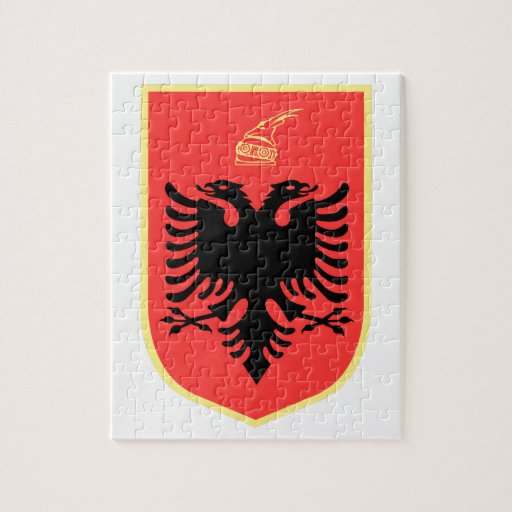 Albania Coat of Arms Jigsaw Puzzles