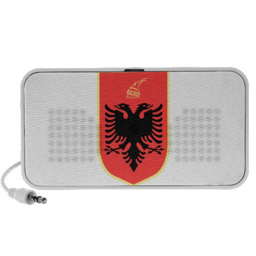 Albania Coat of Arms Portable Speakers