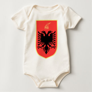 Albania Coat of Arms Baby Creeper
