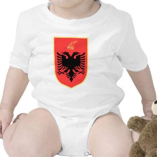 Albania Coat of Arms Bodysuit