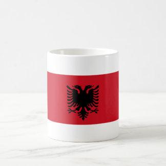 albania country long flag nation symbol coffee mug