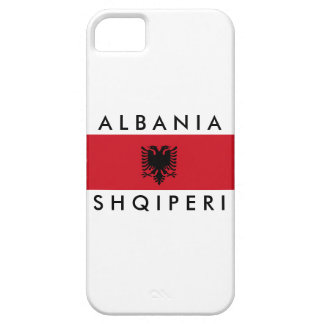 albania country long flag nation symbol name case for the iPhone 5