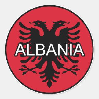 Albania Euro Sticker
