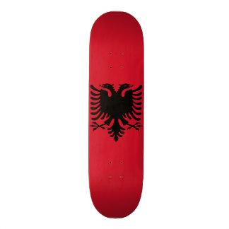 Albania Flag 19.7 Cm Skateboard Deck