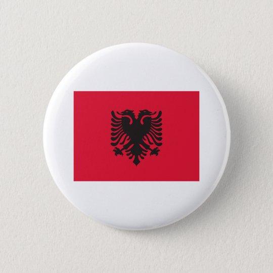 Albania Flag 6 Cm Round Badge