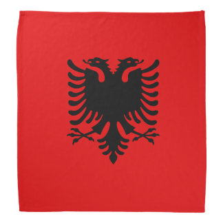 Albania Flag Bandanna