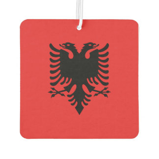 Albania Flag Car Air Freshener