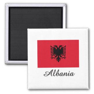 Albania Flag Design Magnet