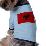Albania Flag Doggie T-shirt