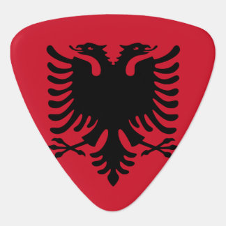 Albania Flag Guitar Pick