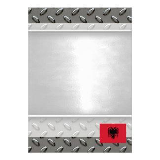 Albania Flag 13 Cm X 18 Cm Invitation Card