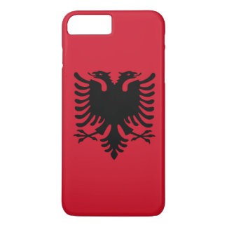 Albania Flag iPhone 7 Plus Case
