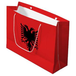 Albania Flag Large Gift Bag