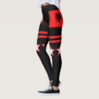 Albania Flag Leggings