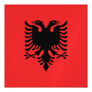 Albania Flag Magnetic Invitations