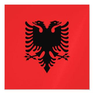 Albania Flag Magnetic Invitations