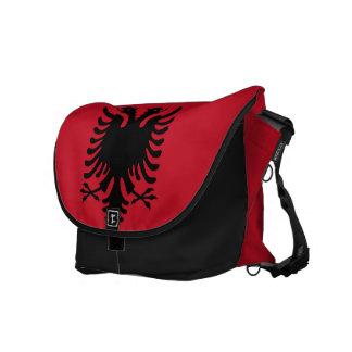 Albania Flag Messenger Bag
