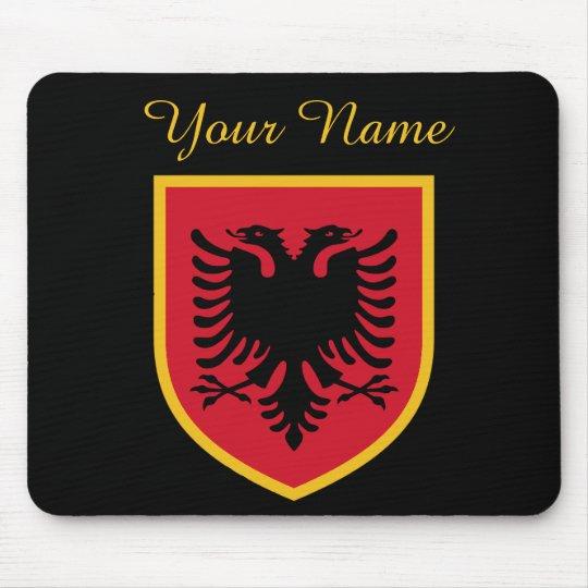 Albania Flag Mouse Mat