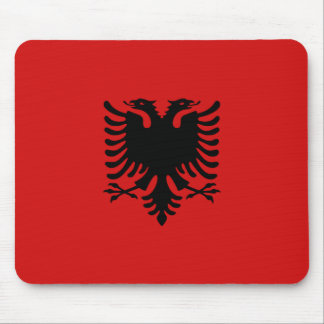 Albania Flag Mousepad