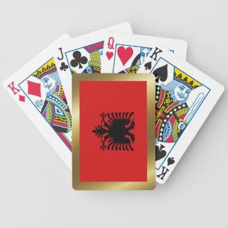 Albania Flag Playing Cards