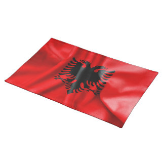 Albania Flag Table Place Mat